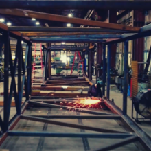 Drone Footage at RKO Steel